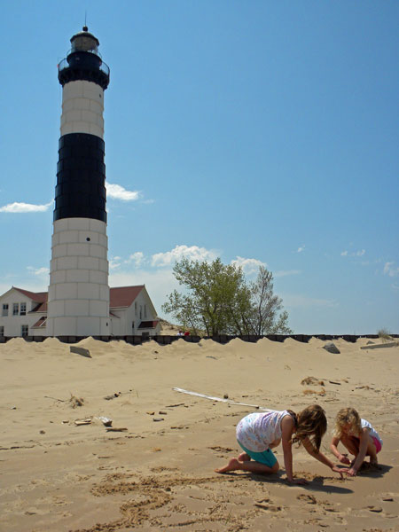 big-sable-lighthouse-beach