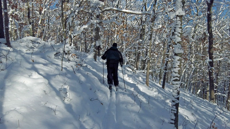 skiing-white-river-trail-back