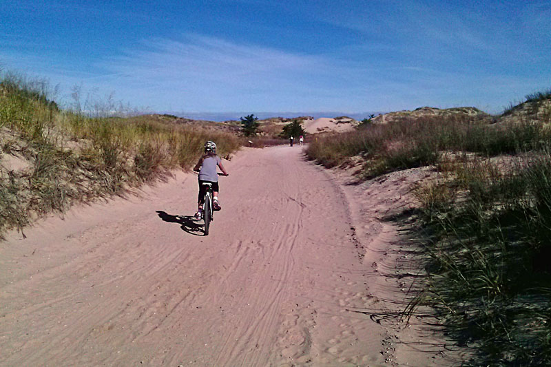 3-biking-to-big-sable-point