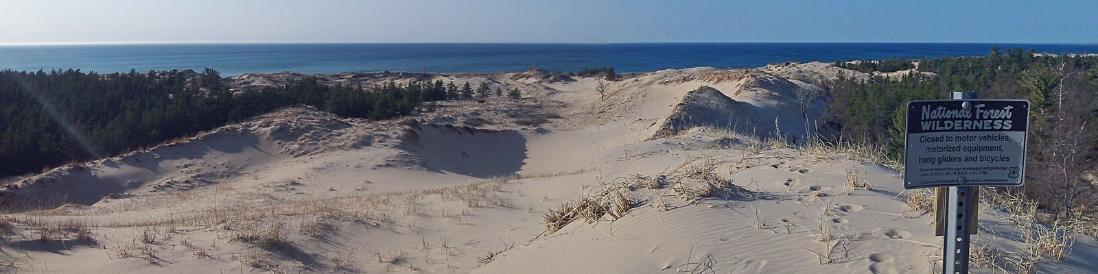 24-border-sign-nordhouse-dunes-ludington-state-park