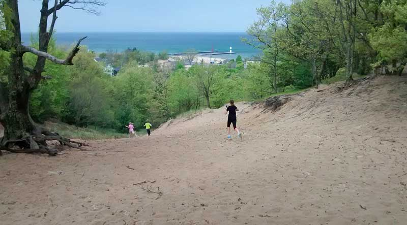 37-running-down-old-baldy-mears-state-park