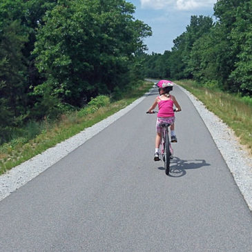 Biking the Fred Meijer Berry Junction Trail to Whitehall – Day Trip