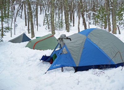 Thumbnail Winter Camping Lost Lake