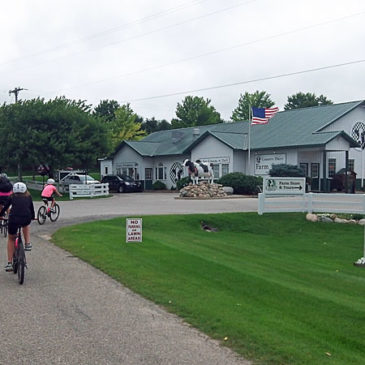Biking to Country Dairy – Hart-Montague Trail – Day Trip