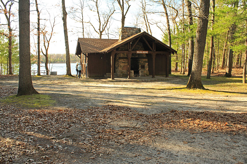 Yankee Springs State Park Rustic Cabin Hiking And